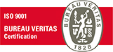 Bureau Veritas Certification ISO 9001 logo
