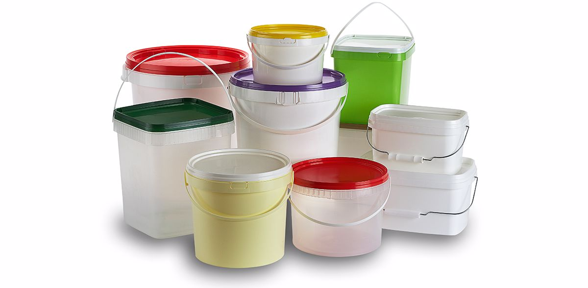 DECA Rectangular buckets