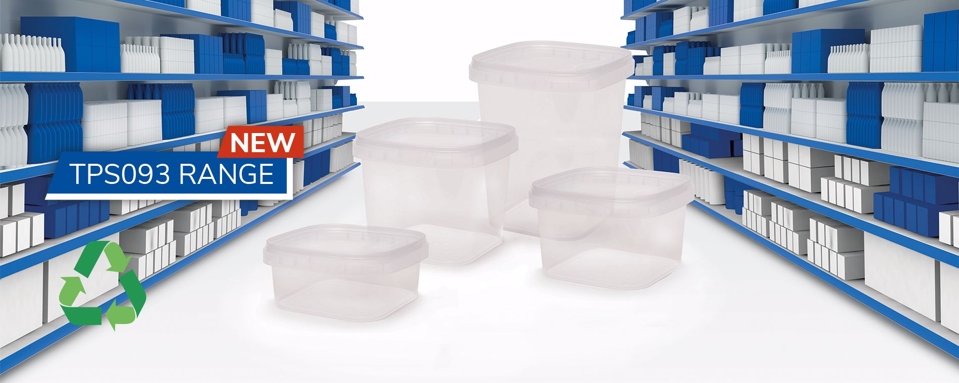 NEW: TPS093, tamper-proof square containers