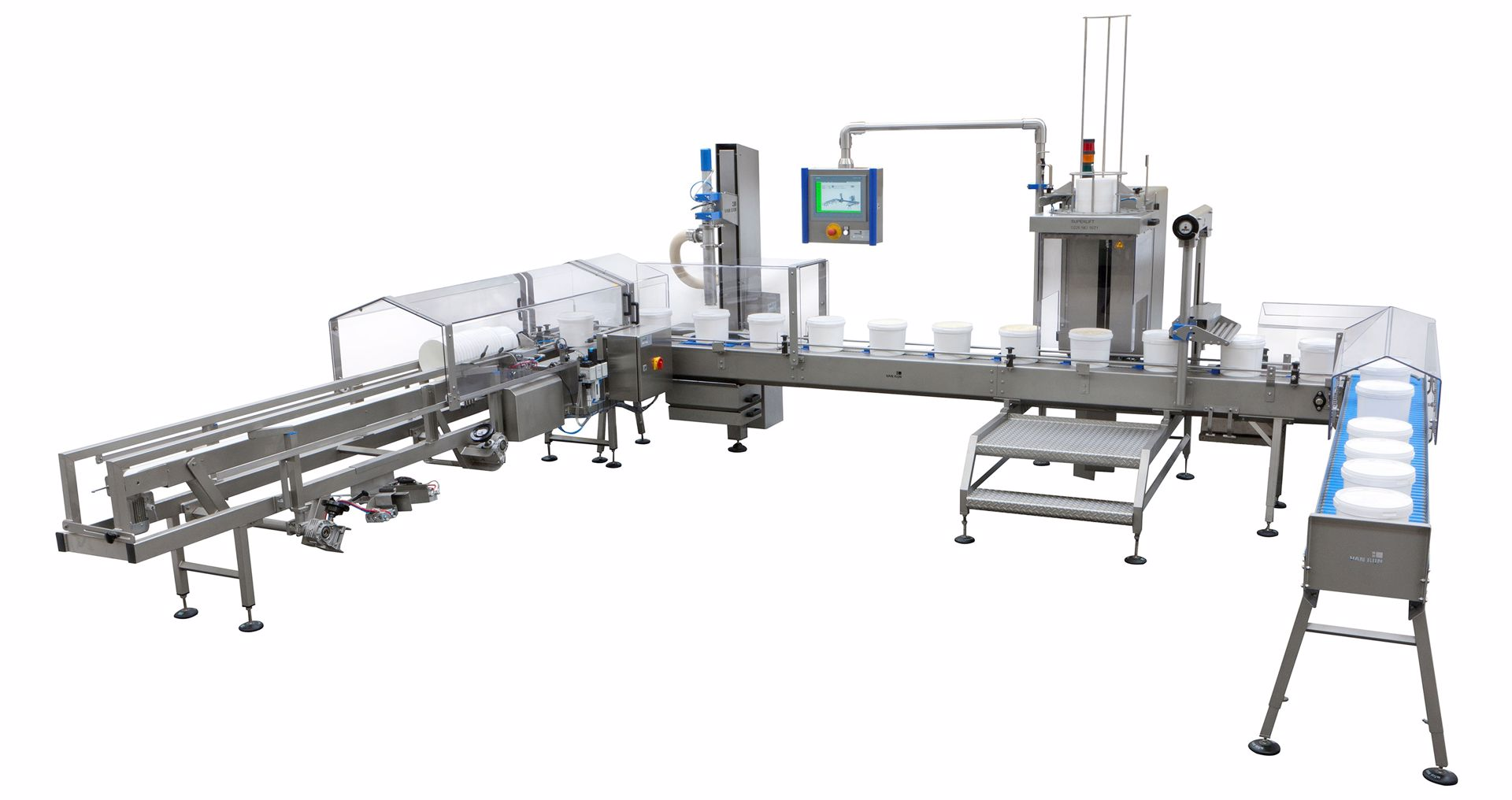 DECA Packaging machines for buckets